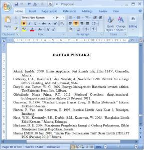 Sumber Artikel Terbaru Cara Penulisan Daftar Pustaka Yang Sumbernya