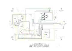Wiring diagram kelistrikan vespa ccuart Choice Image